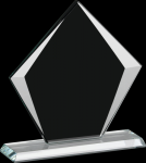 Corporate Sable Diamond Glass Award Achievement Awards
