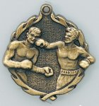 Wreath Boxing Medals Boxing Trophy Awards
