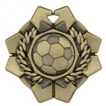Imperial Soccer Medals Football Trophy Awards