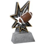 Football Bobble Resin Football Trophy Awards