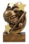 Softball Star Swirl Award Softball Trophy Awards