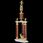 Two Tier Trophy -Bowling  Two Tier Trophies